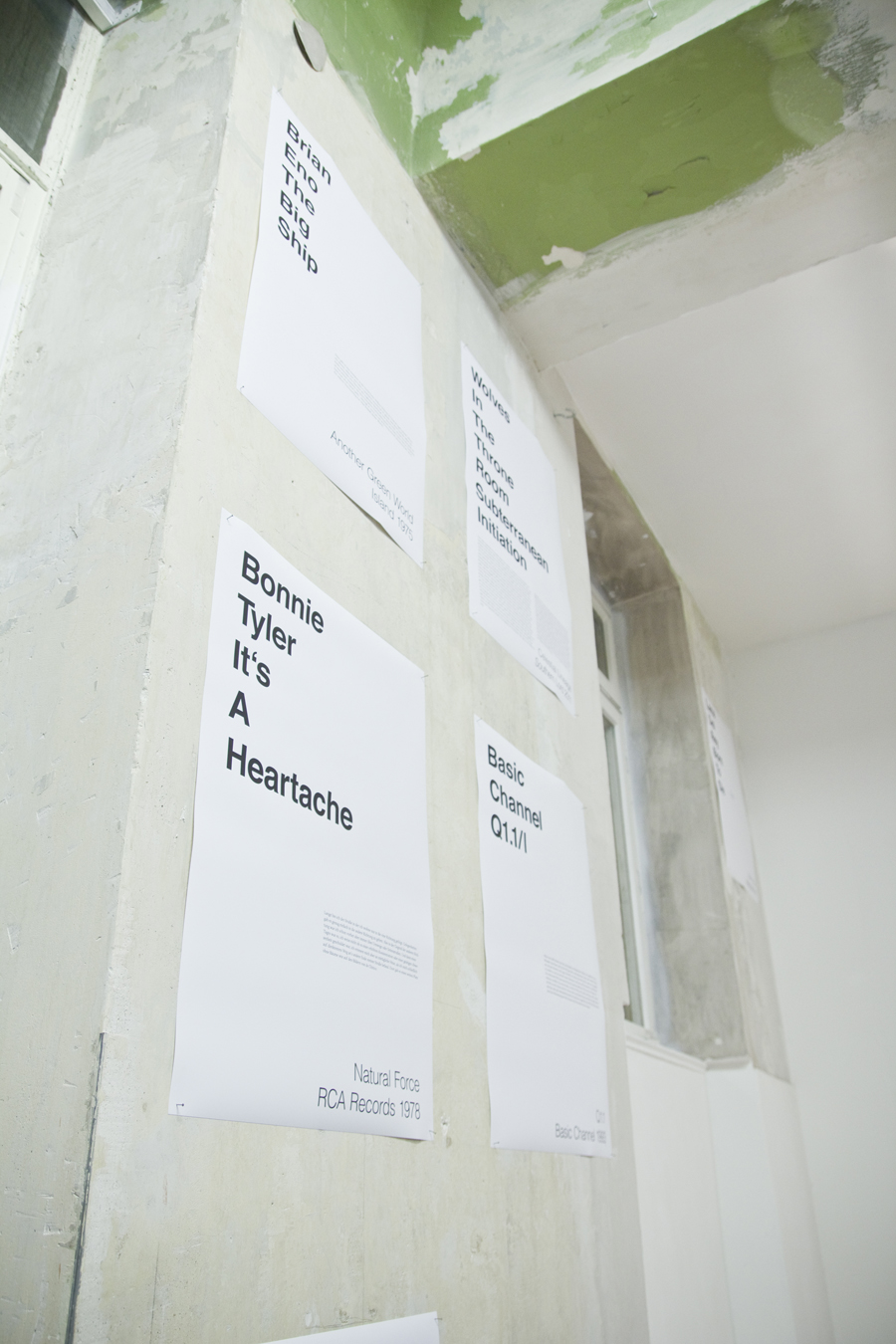 Vorschlag für einen Soundtrack zur Ausstellung, Max Grau